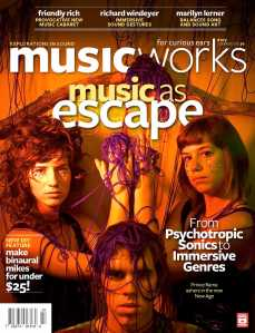 Front cover of Musicworks #107