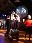 The winners of the first UK Dance Marathon at the Edinburgh Fringe last night.