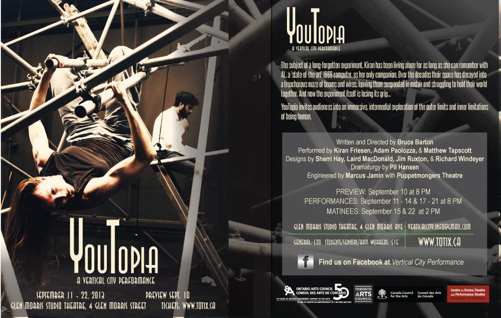 YouTopia promotional flyer