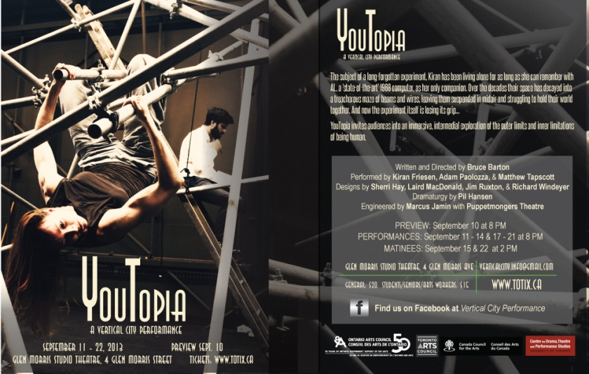 YouTopia promotional flyer